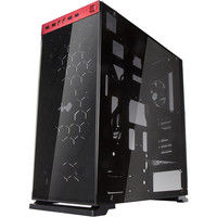 IN WIN INーWIN Mod向けミドルタワーケース ブラックレッド(805ーBlack/Red) 805-Black/Red 1個  (直送品)
