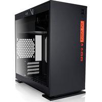 IN WIN ミニタワーケース 電源熱を隔離されたデザイン ブラック IW-CF07B 301-Black 1個  (直送品)