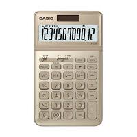 カシオ計算機 スタイリッシュ電卓ジャストサイズJF-S200(ゴールド) JF-S200-GD-N (取寄品)