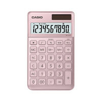 カシオ計算機 スタイリッシュ電卓大判手帳タイプ NS-S10(ピンク) NS-S10-PK-N (取寄品)