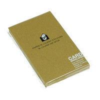 エトランジェ・ディ・コスタリカ カード封筒[DEEP COLOR]マスタード ENYBC-D-04 1セット(10枚入り×15冊) (直送品)