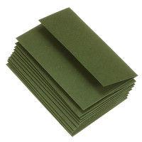 エトランジェ・ディ・コスタリカ カード封筒[DEEP COLOR]オリーブ ENYBC-D-05 1セット(10枚入り×15冊) (直送品)