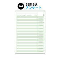 スキャネット A4アンケートシート25問5択 SN-0007(100) 1セット (直送品)