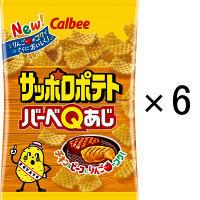 カルビー サッポロポテトバーベQあじ 85g 1セット(6個)