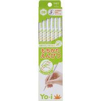 トンボ トンボ鉛筆 もちかたえんぴつ KE-KY02-2B 12本