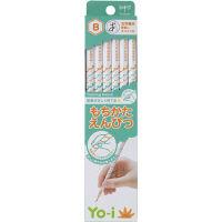 トンボ鉛筆 もちかたえんぴつ KE-KY02-B 2箱(24本入)(直送品)