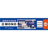 トンボ鉛筆 MONO硬筆書写用鉛筆 KM-KKS6B 1セット(12本入) (直送品)