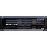 トンボ鉛筆 鉛筆 MONO-100 MONO-1006H 1セット(12本入)(直送品)