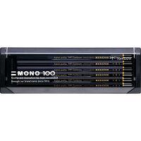 トンボ鉛筆 鉛筆 MONO-100 MONO-100H 1セット(12本入)(直送品)