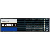 トンボ鉛筆 鉛筆 MONO-R MONO-R2H 2箱(24本入)(直送品)