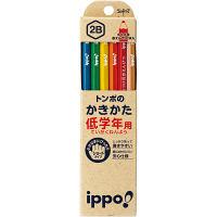 トンボ鉛筆 低学年用かきかたえんぴつ MP-SKNN03-2B 2箱(24本入) (直送品)