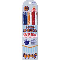 トンボ鉛筆 低学年用かきかたえんぴつ MP-SKRM03-2B 2箱(24本入) (直送品)