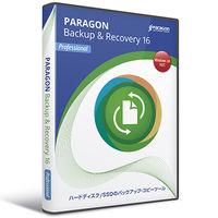 パラゴンソフトウェア Paragon Backup & Recovery 16 Professional シングルライセンス BPG01 1本  (直送品)