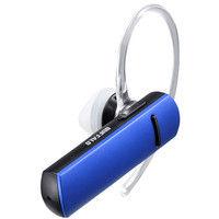 バッファロー Bluetooth4.1対応 片耳ヘッドセット ブルー BSHSBE200BL 1台  (直送品)