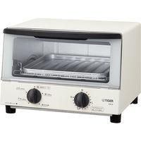 タイガー魔法瓶 オーブントースター <やきたて> ホワイト KAK-A100W 1本  (直送品)