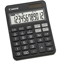 キヤノン 電卓 KSー125WUCーBK SOB 2307C001 1個(直送品)