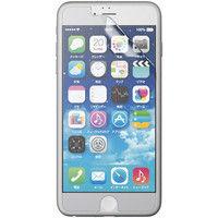 エレコム iPhone 6 Plus用エアーレスフィルム/高光沢タイプ/2枚入り PM-A14LFLTG2 1個  (直送品)