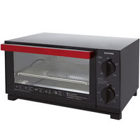 アイリスオーヤマ オーブントースター ブラック TVE-134C-B 1個  (直送品)