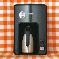 タリーズコーヒージャパン コーヒーメーカー 8杯用 ECH-1001(BK)