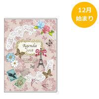 アピカ 18 Paperiスケジュール帳 A6M Paris SA6M814 (直送品)