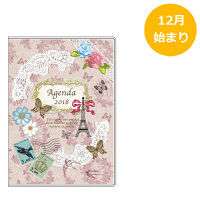 アピカ 18 Paperiスケジュール帳 A6W Paris SA6W820 (直送品)