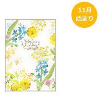 カラーインデックス手帳 B6 薄型 水彩ガーデン SH936B クツワ (直送品)