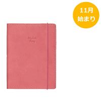 家計簿付き手帳 A6 アンティークピンク SH951A クツワ (直送品)