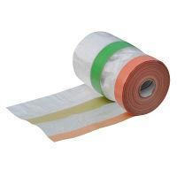 ハンディ・クラウン 楽してマスカー布テープタイプ 550×12.5m 2090130550 1セット(10個入) (直送品)