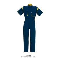 ヤマタカ 半袖夏ツナギ服 ネイビー 6L 9900-2-6L 1枚(直送品)