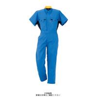 ヤマタカ 半袖夏ツナギ服 ロイヤルブルー M 260-1-M 1枚(直送品)
