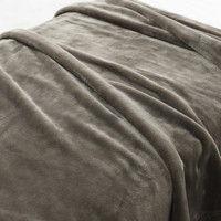 無印良品 あたたかファイバー厚手毛布・D/ベージュ 38721642 良品計画 (取寄品)