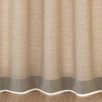 無印良品 ポリエステル杢調プリーツカーテン/ベージュ 幅100×丈178cm 38755180 良品計画
