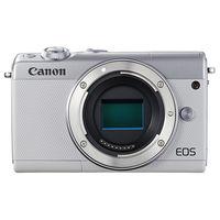 キヤノン ミラーレスカメラ EOS M100・ボディー (ホワイト) 2210C004 1台  (直送品)