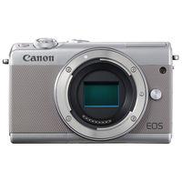 キヤノン ミラーレスカメラ EOS M100・ボディー (グレー) 2211C004 1台  (直送品)