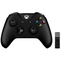 マイクロソフト Xbox Controller + Wireless Adapter for Windows 10 4N7-00008 1本  (直送品)