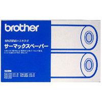 ブラザー 感熱ファクス用感熱記録紙 30m 2巻/箱 THP-10 1箱  (直送品)