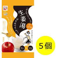 「冷え知らず」さんの生姜湯はちみつりんご 1セット(2袋入×5個) 永谷園 栄養補助食品