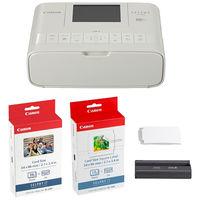 キヤノン コンパクトフォトプリンター SELPHY CP1300 カードプリントキット (ホワイト) 2235C012 1台  (直送品)