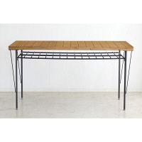 東馬 COLT(コルト) ダイニングテーブル ライトブラウン 幅1400×奥行750×高さ730mm 1台 (直送品)