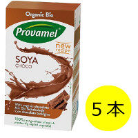 プロヴァメル オーガニック豆乳飲料 チョコレート味 250mL 1セット(5本) MIE PROJECT