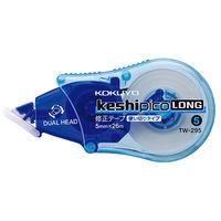 コクヨ 修正テープ<ケシピコロング> 5mm幅×26m TWー295 1セット(10個) (直送品)