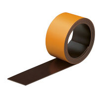 コクヨ マグネットシート(スリムカラー)25mm オレンジ マクー307NYR 1セット(10本)(直送品)
