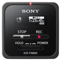 ソニー ステレオICレコーダー 16GB ブラック ICD-TX800/B 1台  (直送品)