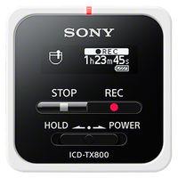 ソニー ステレオICレコーダー 16GB ホワイト ICD-TX800/W 1台  (直送品)