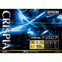 エプソン 写真用紙クリスピア<高光沢> KL200SCKR 1箱(200枚入) (取寄品)