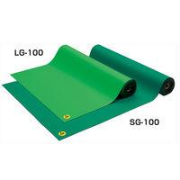 ベッセル(VESSEL) 導電性ゴムマット ライトグリーン LG-100 (取寄品)