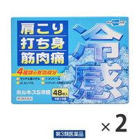 【第3類医薬品】ホルキスS冷感 2箱セット(96枚) テイコクファルマケア