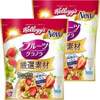 ケロッグ 厳選素材 フルーツグラノラ 徳用袋 500g 1セット(2袋)