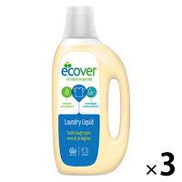 エコベール ランドリーリキッド (洗濯用液体洗剤) 1.5L 1セット(3本:1本×3)