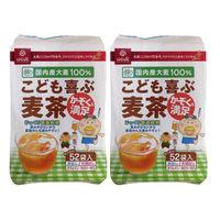 はくばく こども喜ぶ麦茶 1セット(104バッグ:52バッグ入×2袋)